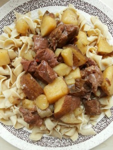 beef and egg noodles