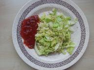 veggie taco prep